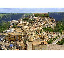 Ragusa Inferiore (Sicily, Italy) Photographic Print