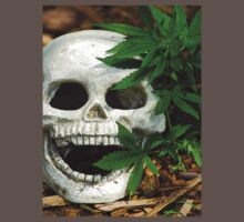 Happy Marijuana Skull  by ggpalms