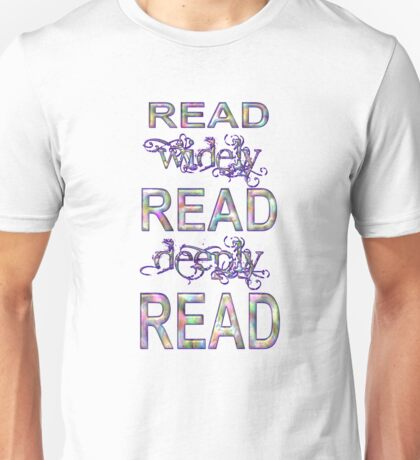 Read Sequence One Unisex T-Shirt