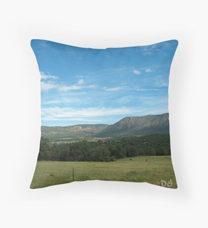 Just Another Day in Canon City, Colorado  Throw Pillow
