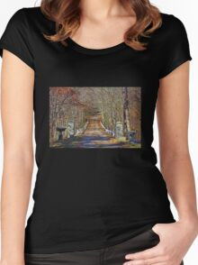 Autumn Driveway Women's Fitted Scoop T-Shirt