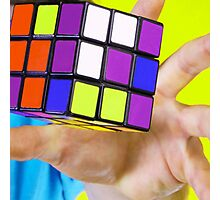 rubiks Photographic Print