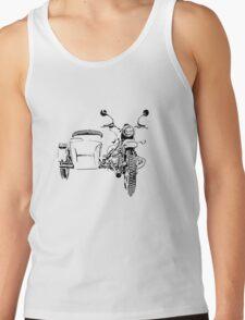 Sidecar motorcycle Tank Top