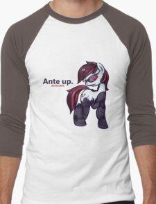 Ante Up - Augmented V2 Men's Baseball ¾ T-Shirt