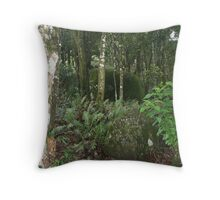 Deep in the Forrest Throw Pillow
