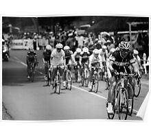 The Leader Of The Peleton Poster