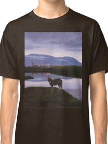 a colourful Iceland landscape Classic T-Shirt