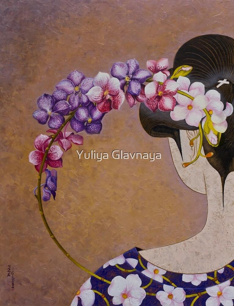 Orchid by Yuliya Glavnaya