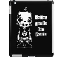 Robot Punks for Peace iPad Case/Skin