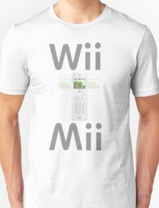 Wii Mii Cellphone T-shirt T-Shirt