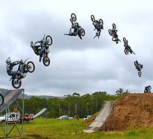 No Handed Flip by Christopher R Pitts