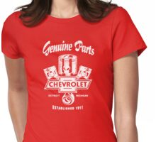 Classic Chevrolet Genuine Parts Womens Fitted T-Shirt