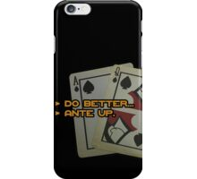 BlackJack CM iPhone Case/Skin