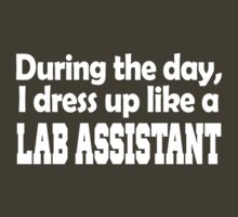 during the day i dress up like a LAB ASSISTANT by pravinya2809