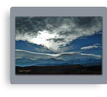 San Bernardino Mountains - Winter Canvas Print