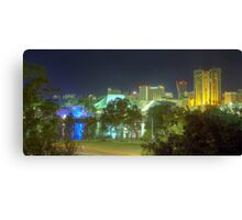 Adelaide Panorama Canvas Print