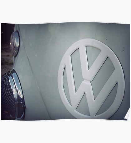 Split screen volkswagen Poster