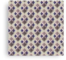 Abstract isometric pattern Canvas Print