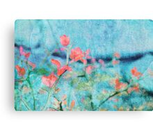 Blossom and Leaves Canvas Print