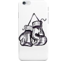Boxing gloves iPhone Case/Skin