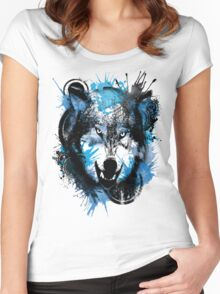 Wolf's Glare Women's Fitted Scoop T-Shirt