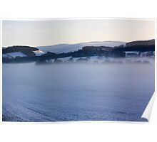Freezing Fog Over The Tweed Poster