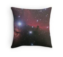 """Nebular comples in Orion's Belt. """"Horse head"""" and """"Flaming tree"""" nebulas. Throw Pillow"""