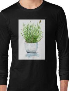 Bulbine frutescens (Balsemkopiva) Long Sleeve T-Shirt
