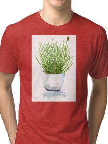 Bulbine frutescens (Balsemkopiva) Tri-blend T-Shirt