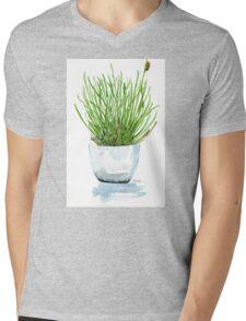 Bulbine frutescens (Balsemkopiva) Mens V-Neck T-Shirt