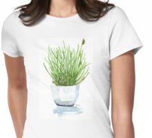Bulbine frutescens (Balsemkopiva) Womens Fitted T-Shirt