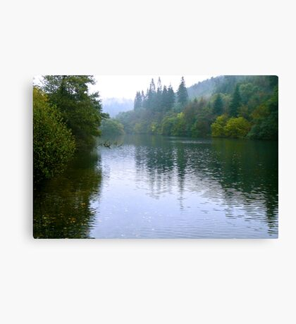 Staindale Lake - Dalby Forest Canvas Print