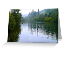 Staindale Lake - Dalby Forest Greeting Card