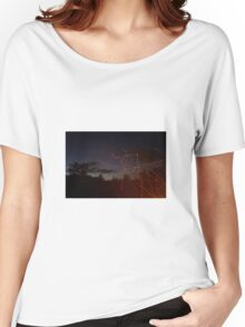 Night sparks, Tasmania Women's Relaxed Fit T-Shirt