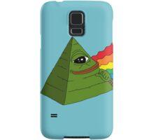Illuminati pepe - Dark side of the pepe.  Samsung Galaxy Case/Skin