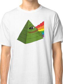 Illuminati pepe - Dark side of the pepe.  Classic T-Shirt