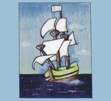 Sail Away Kids Tee