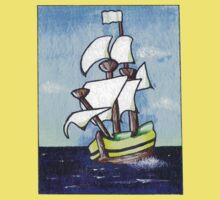 Sail Away One Piece - Short Sleeve
