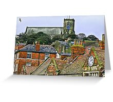 St Mary's Church - Scarborough Greeting Card