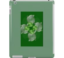 Green Abstract  pattern  (2378 Views) iPad Case/Skin