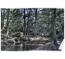 Grove Creek - Abercrombie Caves Poster