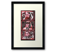 x3FATESx Framed Print