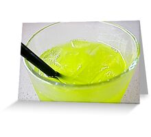 Lemon  Lime and Bitters Greeting Card