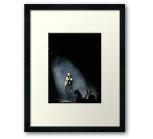 Smokin Spotlight Framed Print