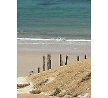 Sand, Sticks & Sea Photographic Print