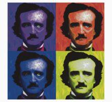 Pop Art - Edgar Allan Poe by Chunga