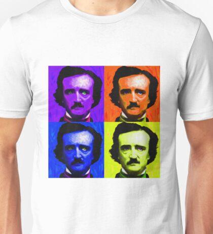 Pop Art - Edgar Allan Poe Unisex T-Shirt