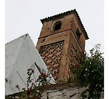 old minaret salares Photographic Print