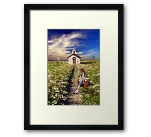 I Miss The Days You Were Here (Revised) Framed Print
