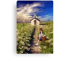 I Miss The Days You Were Here (Revised) Canvas Print